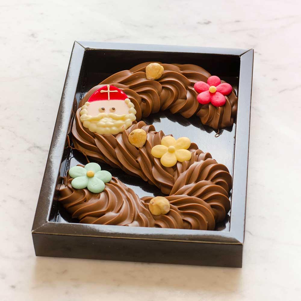 chocoladeletters plaizier
